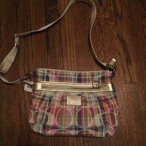 Coach Daisy Madras Crossbody Bag (retired print)